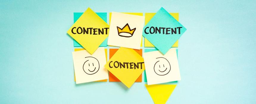 Sin contenido tu web no vale para nada