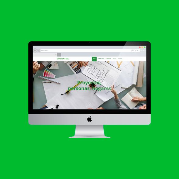 Página Web de Vivienda Sana