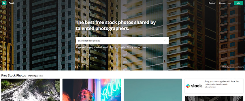 pexels bancos imagenes gratis